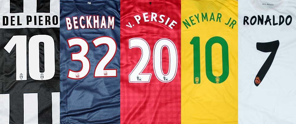 Нанесение номеров, фамилий, логотипов, брендирование 22